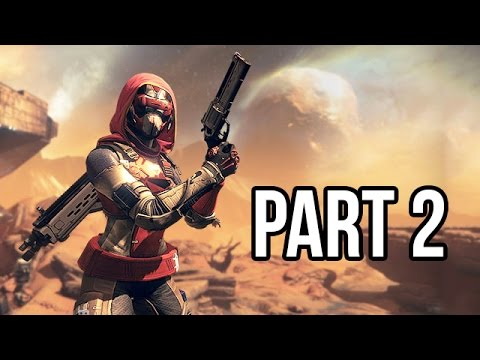 Destiny Gameplay Walkthrough - Part 2 Beta - Campaign Mission 2 (PS4/XB1 1080p HD)