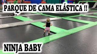 VLOG | PARQUE DE CAMA ELÁSTICA GIGANTE