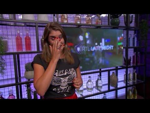 Marieke houdt het niet droog na eerste Late Night- - RTL LATE NIGHT