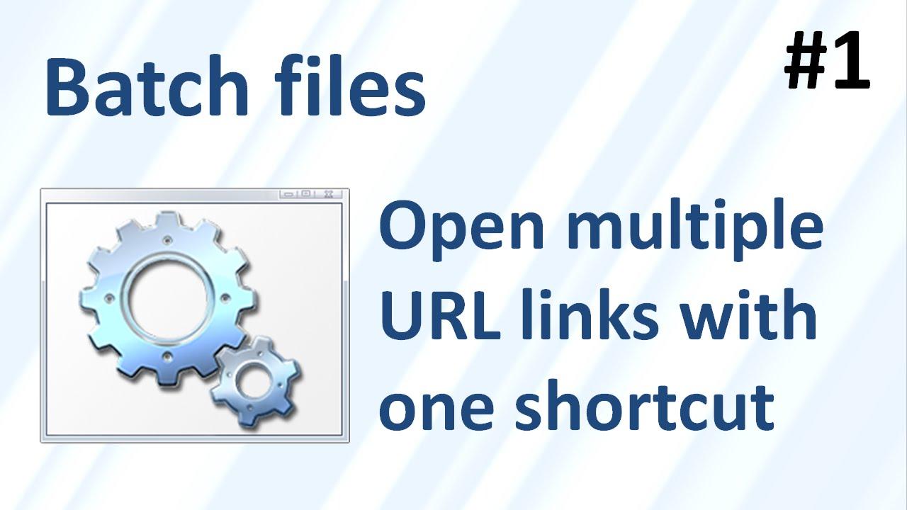 Batch Files & Batch Commands