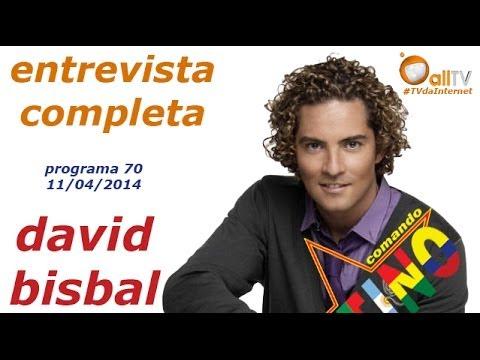 Comando Latino - David Bisbal - Entrevista Completa - 11/04/2014