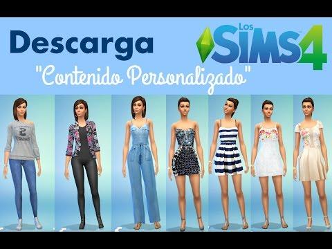 Descarga contenido personalizado para Los Sims 4