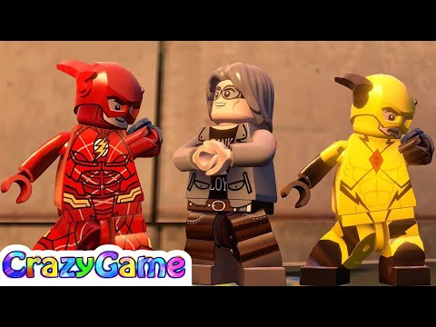 LEGO MARVEL's Avengers - Flash (Justice League), Zoom (New 52), Quicksliver (X-Men) Gameplay