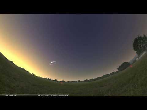 Geminidy 2017 Maksimum meteorów noc z 13 na 14 grudnia.