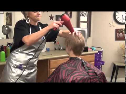 How To Cut Ladies Hair from Long to Short and Spiky Haircut   Hairstyles