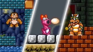 Super Mario Bros. X (SMBX) - The Invasion - All Bosses [Boss Rush]