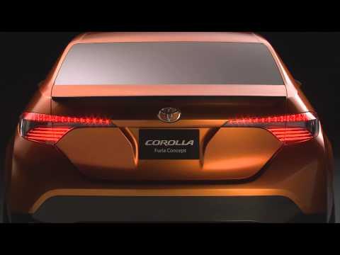 Toyota Corolla Furia concept, промо