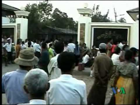 Freedom of Political Prisoners Important (VOA Burmese)