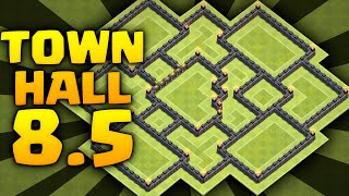 Clash Of Clans - Town Hall 8.5 Farming Base - TOWN HALL 8.5 Defense 2016