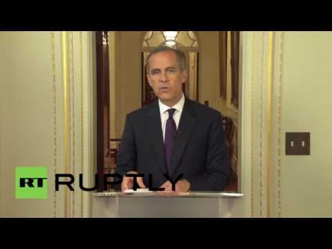 UK: Bank of England 'well prepared' for Brexit contingency - governor Mark Carney