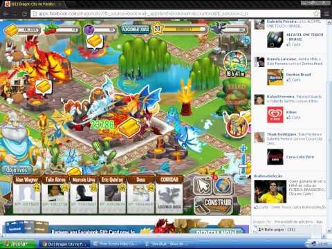 Dragon City Dragão Fogo Frio Dragon City Como Fazer Dragao