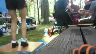 "Clifftop 2010 - Dancing ""Stop Kickin my Dog around"" @ Tentus Groovius Kansasiae"