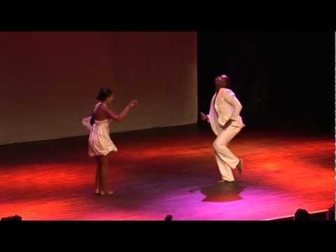 Show - Ismaray Chacon 'Aspirina' & Reinier Powell