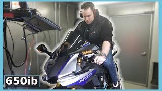 He ADDED 16HP To My Yamaha R1M!
