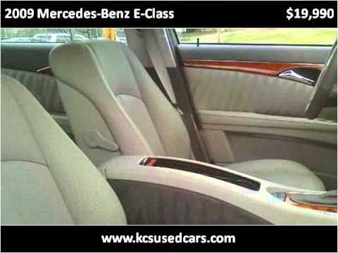 2009 Mercedes-Benz E-Class Used Cars Scottsboro AL