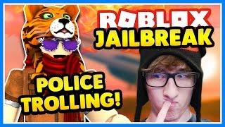 TROLLING POLICE!! 🔴 ROBBING THE BANK! | Roblox Jailbreak | Assassin