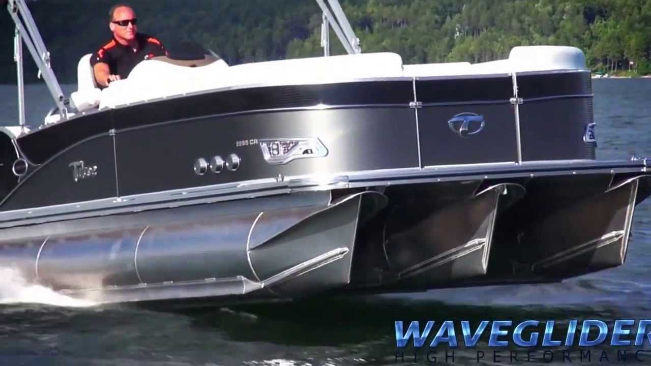 Fast Pontoon Boat Video Avalon S Waveglider High