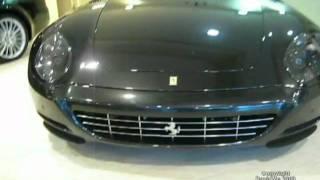 Ferrari 612 Scaglietti in a dealer - Rome