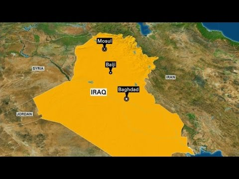 Iraqi officials: Iraq retakes refinery town from ISIS