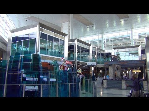 An HD Tour of Dallas-Fort Worth International Airport (DFW), Terminals A, B C, D, and E