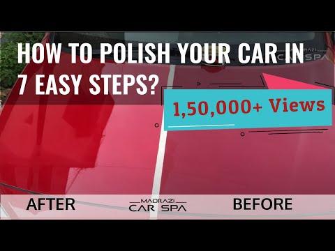 [DIY]: 3M Car Polishing 🚘 (Basic)   Car Rubbing Polish at Home   7 Easy Steps