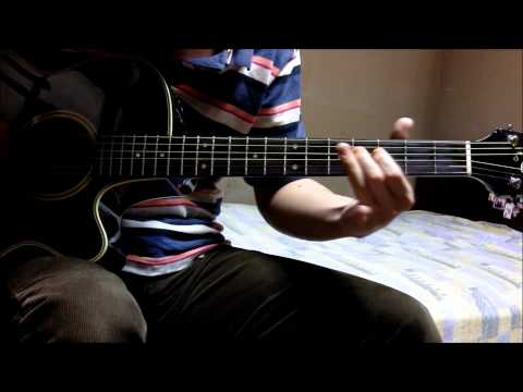 Naruto Shippuden Op 12 - Moshimo Guitar Cover (overdub) video