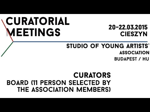 Curatorial Meetings / Studio of Young Artists' Association 29 // HU