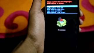 How To Hard Reset Or Factory Format Levono A6000 - Tutorial
