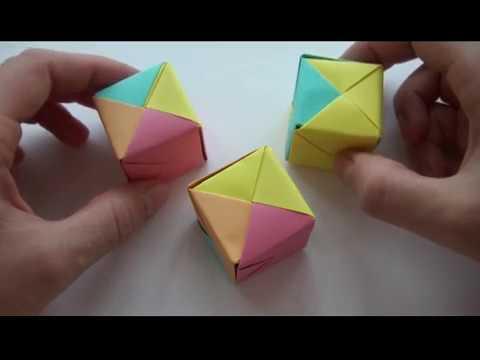 Оригами кубик схема - Оригами