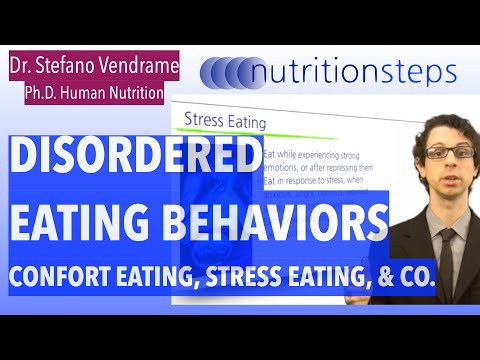 Nutrition Steps 2.3 - Disordered Eating Behaviors