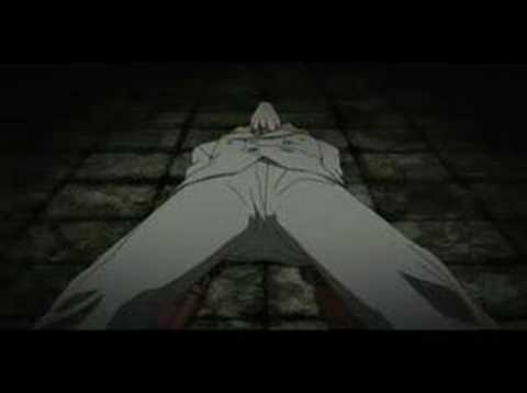 Hellsing-Ova 2: Alucard vs Luke Valentine.