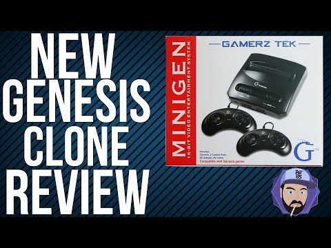 GamerzTek MiniGen Review - Sega Genesis on a Budget | RGT 85