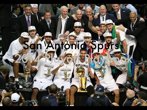 San Antonio Spurs Playbook : 2014 NBA Playoffs