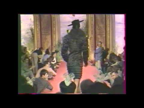 1987 Christian Lacroix Haute Couture Fall-Winter Fashion Show