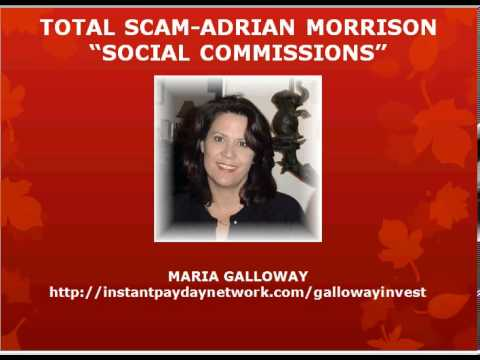 Adrian morrison scam adrian morrison social commissions for Is plenty of fish legit
