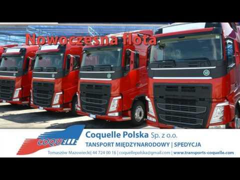 Usługi Transportowe Transport Ciężarowy Tomaszów Mazowiecki Coquelle Polska