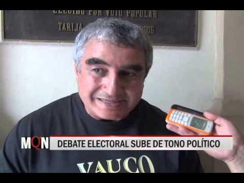 28/10/2014 19:04 DEBATE ELECTORAL SUBE DE TONO POLÍTICO