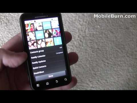 Video: Motorola DEFY unboxing and feature tour