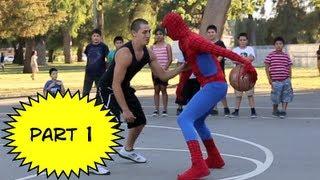Spiderman Basketball Episode 1