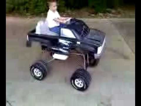 Monster Truck Power Wheels Chevy Youtube