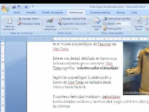 Crear un documento PDF en Word