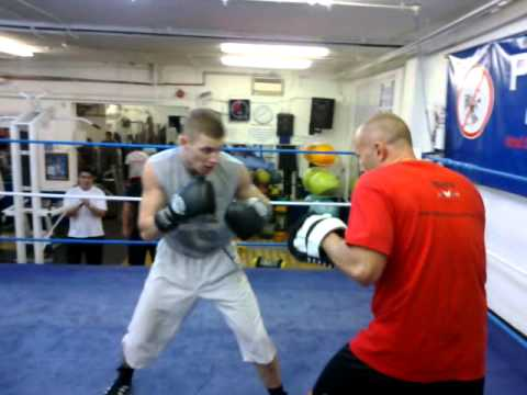 Boxing Pads Workout Image 1
