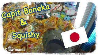 Main capit boneka dan squishy di japan