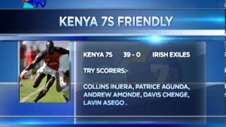 KENYA 7S IN 3 FRIENDLIES