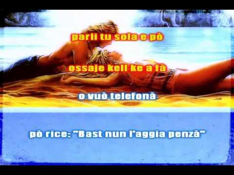 Nino D'Angelo   Amore e pensiero   Base Karaoke