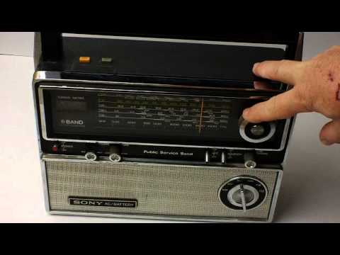 Sony TFM-8000W 6 Band Short Wave Radio
