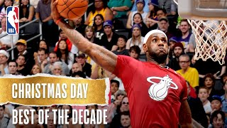 Best NBA Christmas Day Plays of the Decade!