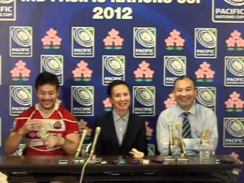 Post Match Press Conference - IRB Pacific Nations Cup v Fiji Part 1
