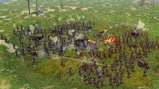 Age of Empires III Multiplayer Gameplay - Häuptling Hustender Clown [Deutsch/HD/WarChiefs]