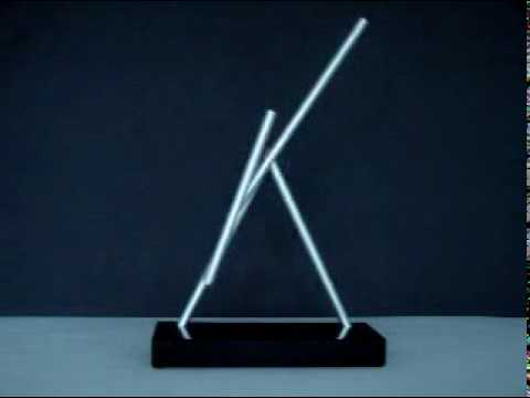 The Swinging Sticks Kinetic Desk Sculpture From Iron Man 2